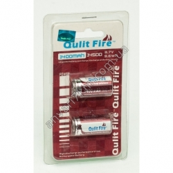 Аккумулятор Qulit Fire 14500 (3.7V, 9.6 wh) 1400 mah (2 шт.)
