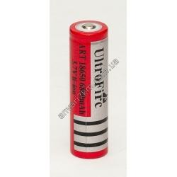 Аккумулятор li-ion UltroFire ART 18650 (3.7V) 6800 mAh