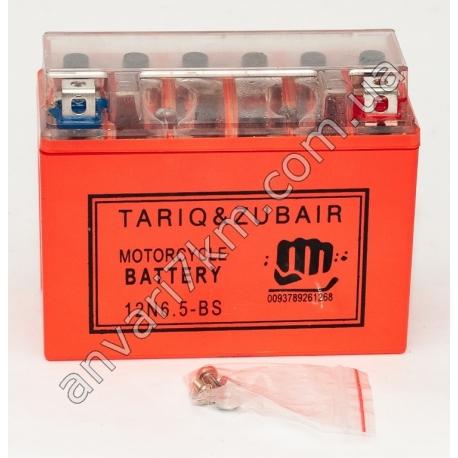 Аккумулятор TARIQ&ZUBAIR 12N6.5-BS