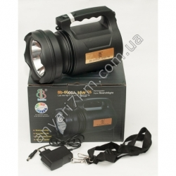 LED фонарь переносной TD-6000A-30W-T6