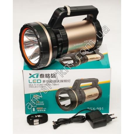 LED фонарь ручной TGX-991