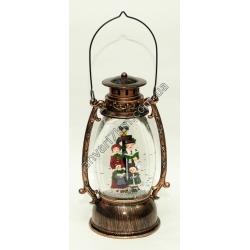 """Новогодняя декоративная лампа """"Счастливая семья"""""""