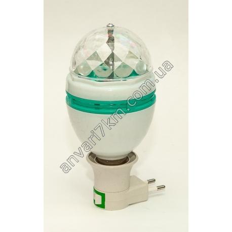 Лампа - проектор Диско шар