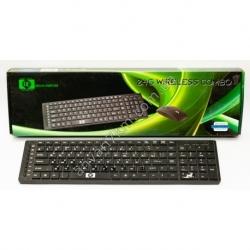Беспроводная компьютерная клавиатура + мышка DC