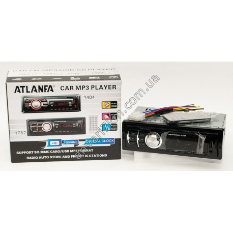 Магнитола MP3 ATLANFA 1782