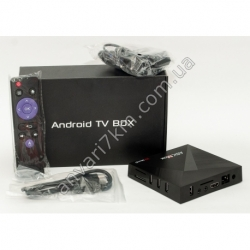 ТВ приставка Android TV BOX A5X Max
