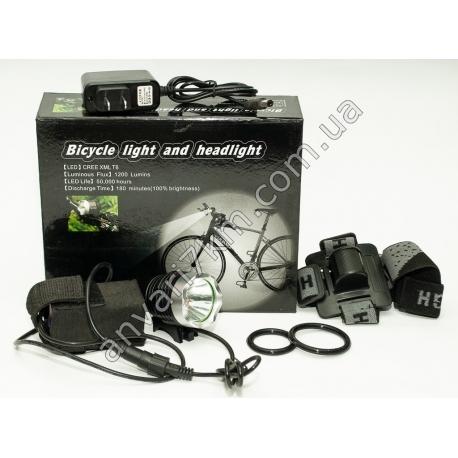N19 Велосипедный LED фонарик