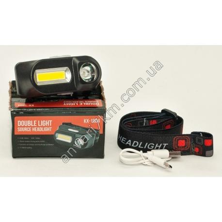 Налобный LED фонарь KX-1804