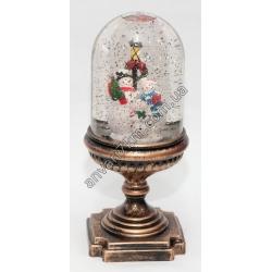 №407 Новогодняя игрушка Падает снег (Лампа)