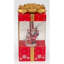 №408 Новогодняя игрушка Падает снег (Подарок)