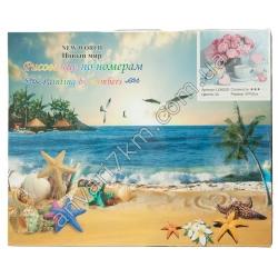 №415 Набор для творчества Рисование по номерам NEW WORLD LC40030 (26 цветов) (40 х 50 cm)