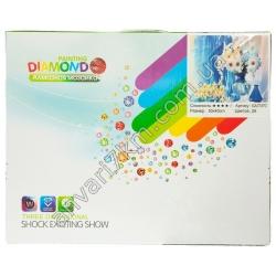№419 Набор для творчества Алмазная мозаика GA73170 (26 цветов) (50 х 40 cm)