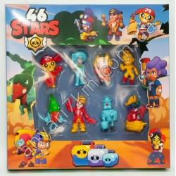 №427 Набор игровых фигурок Brawl Stars 66 StarS