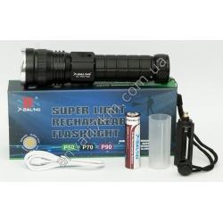 №436 Фонарик ручной LED X-BALOG BL-P03-P90