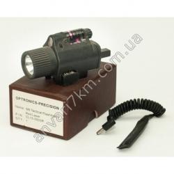 M6 Тактический фонарь + красный лазер