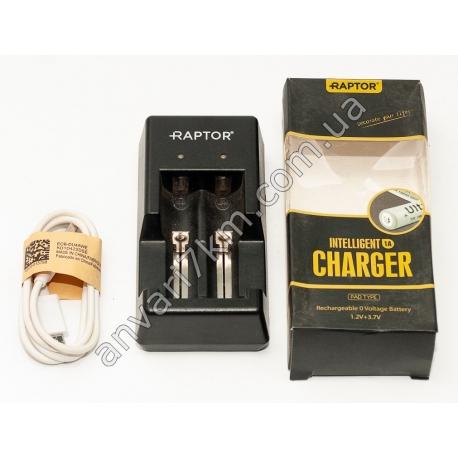 Зарядное устройство для двух аккумуляторов Intelligent charger Raptor